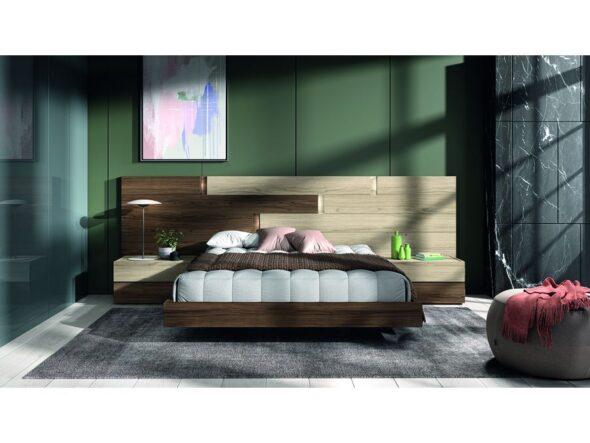 Composición dormitorio de matrimonio moderno modelo Cosmos 24