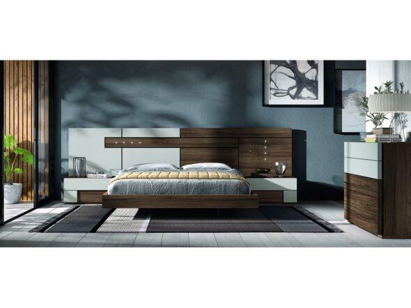 Dormitorio de matrimonio con comodín modelo Cosmos 027