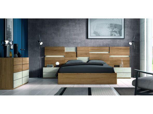 Dormitorio de matrimonio estilo clásico y moderno modelo Cosmos 034