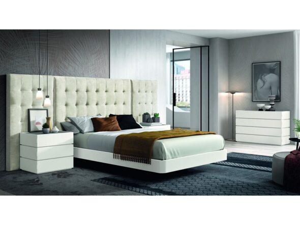 Completo conjunto de dormitorio de matrimonio Cosmos 042