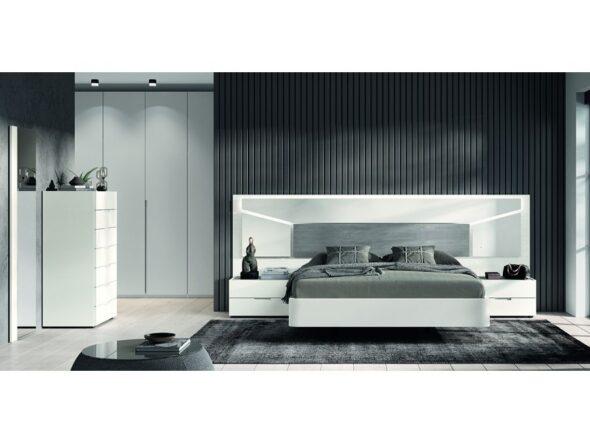 Elegante composición dormitorio de matrimonio modelo Cosmos 005
