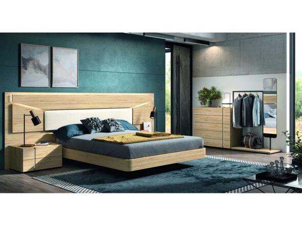 Actual composición para dormitorio de matrimonio modelo Cosmos 006