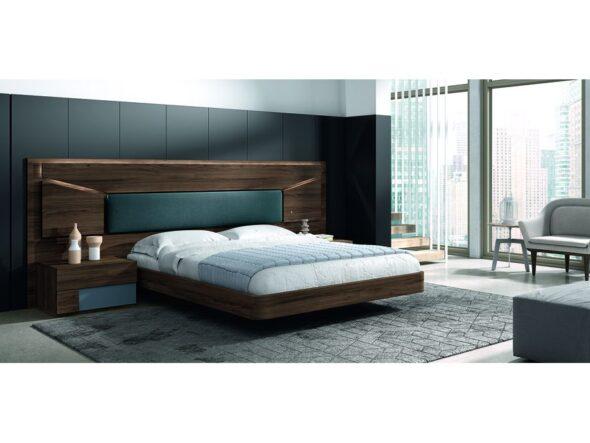 Moderno dormitorio de matrimonio modelo Cosmos 007