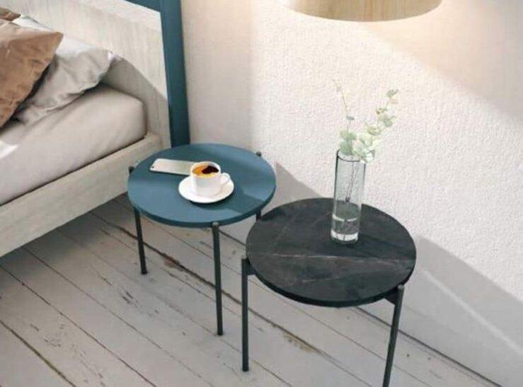 mesas redondas de dormitorio con patas