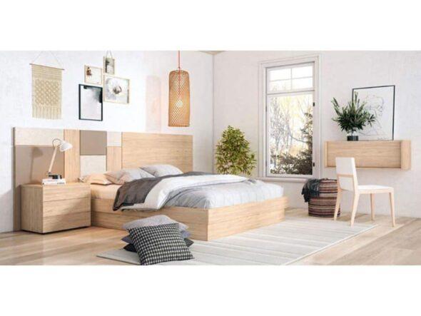 Dormitorio de matrimonio moderno torga Nativ