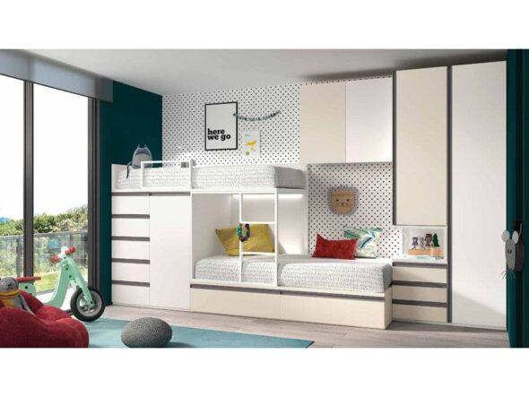 Dormitorio juvenil S34