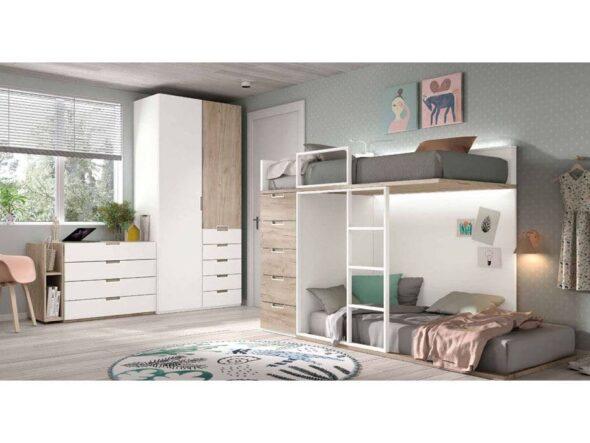 Dormitorio completo juvenil s36
