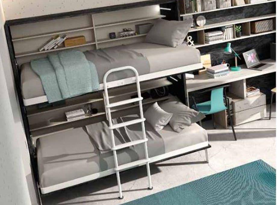 Dormitorio juvenil con Literas S49